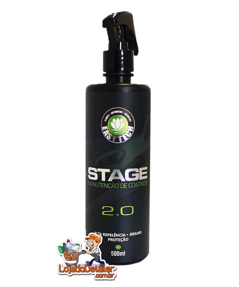 Stage 2.0 – Manutenção de Vitrificadores – 500ml - EasyTech