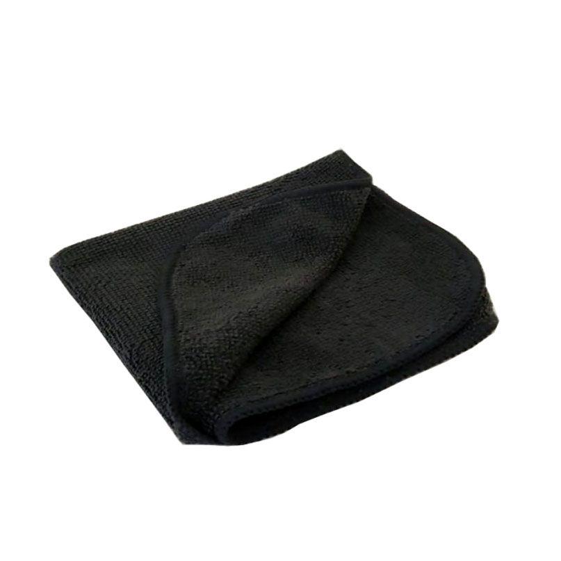 Toalha de Microfibra 210gsm Black - 29x29cm - Auto Crazy