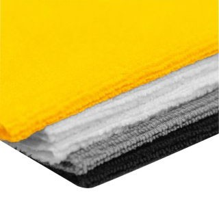 Toalha de Microfibra 30x40cm - 200gsm - Jogo C/ 5pçs - Vonder