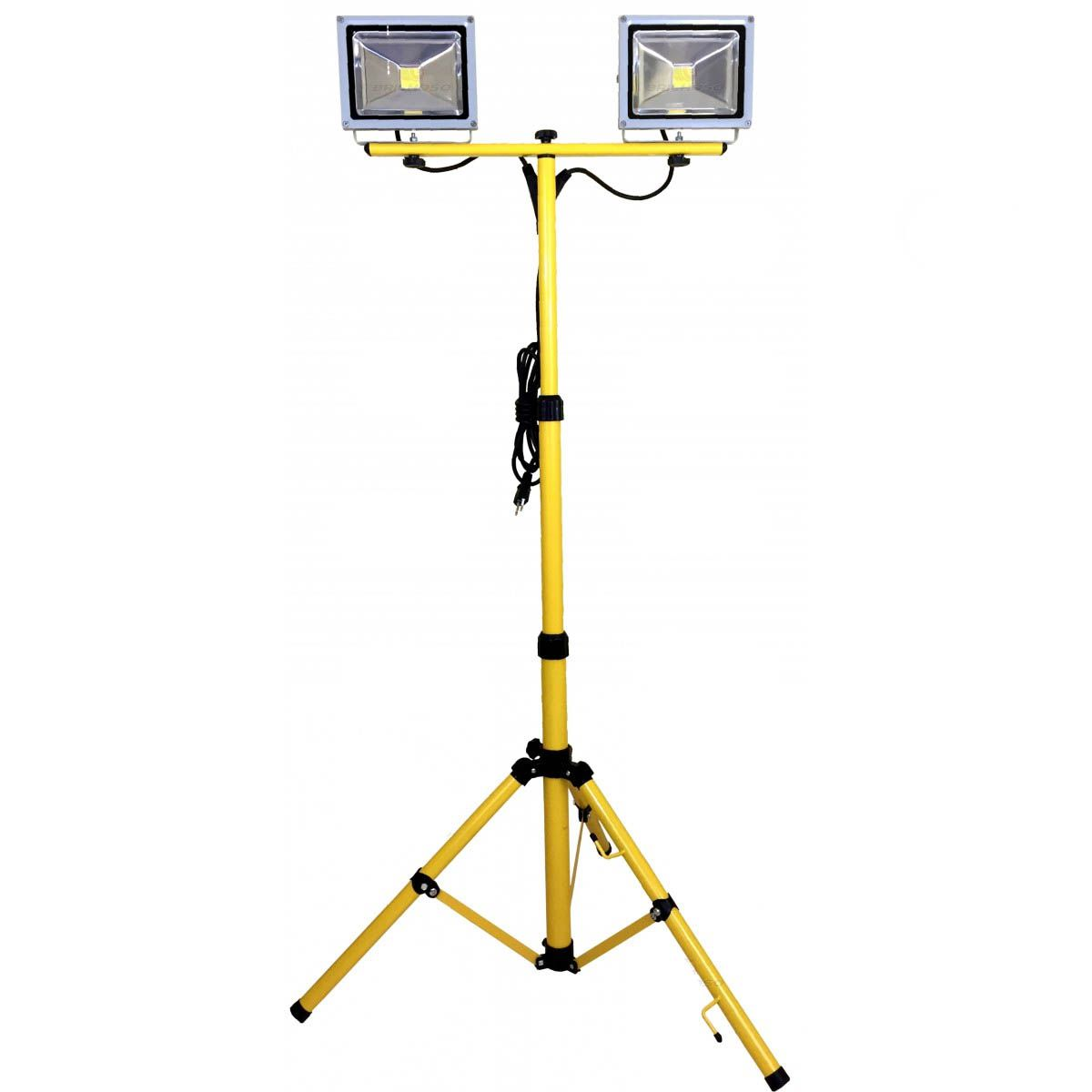 Tripé De Luz Refletor Dual Led - 20 Watts - 220V - Kers