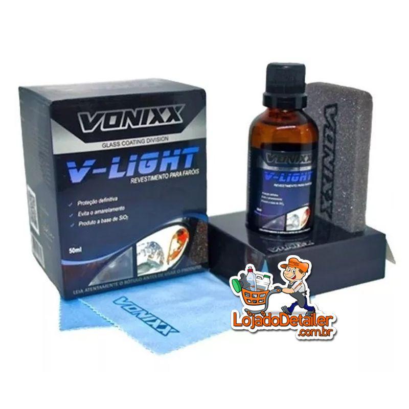 V-Light – Vitrificador para faróis - 50ml - Vonixx