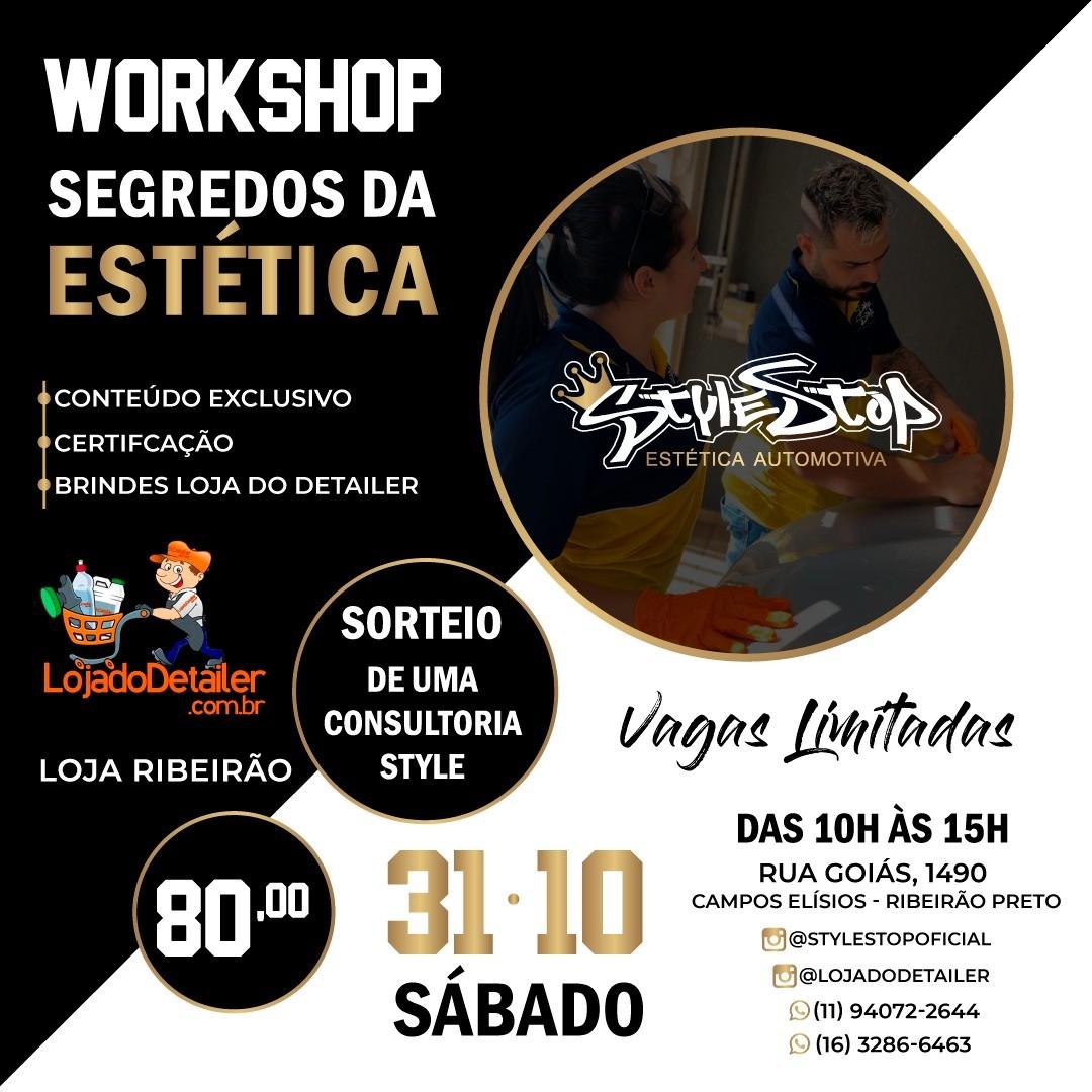 """WORKSHOP """"Segredos da Estética"""" - RIBEIRÃO PRETO"""