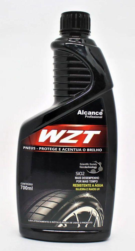 WZT - Hidratante de Pneus - 700ml - Alcance