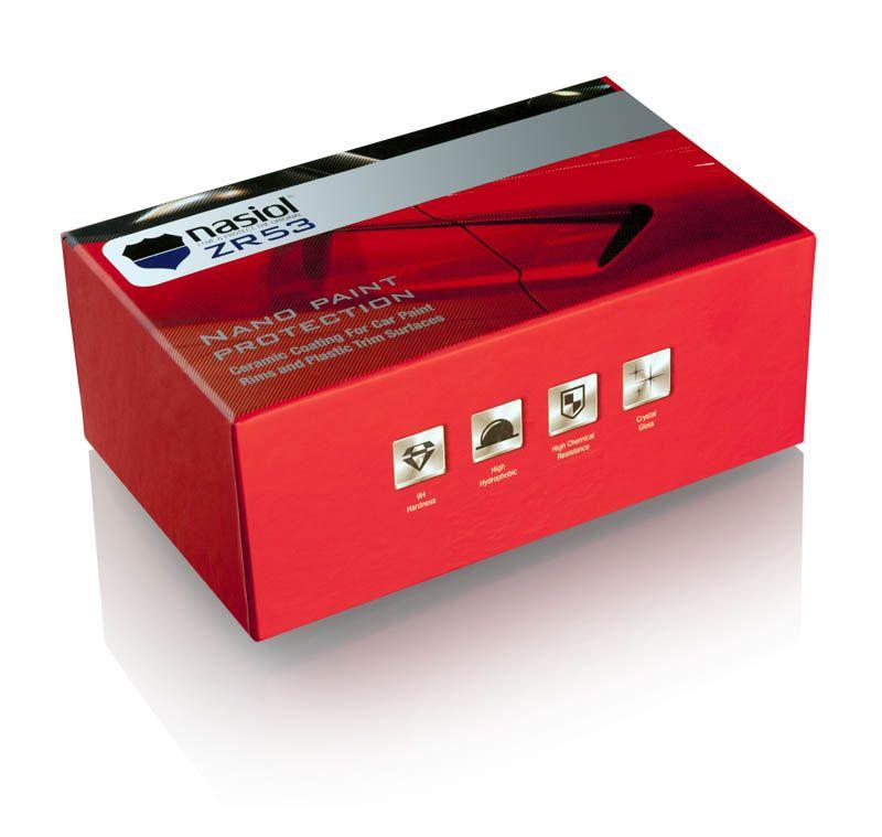 ZR53: NASIOL ZR53 - Nano proteção Cerâmica com Dureza 9H - 50ml
