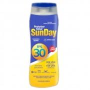 30 un. protetor solar fps 30 sunday 200 ml sem oleo uva uvb