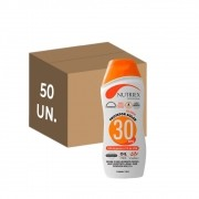 50 un. protetor solar fps 30 nutriex 120 ml sem oleo atacado