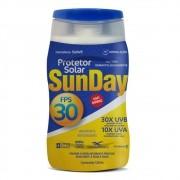 50 Unidades De Protetor Solar Sunday Fps 30 120ml Proteção Solar Uva E Uvb - Preço Para Revenda E Atacado