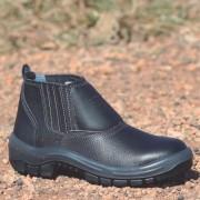 Botina de Segurança Bi-Densidade com Elástico e Bico de PVC Protefort
