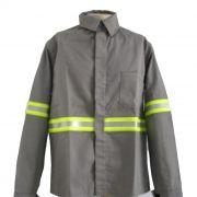 Camisa Eletricista com Refletivo - Indart