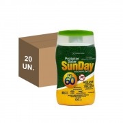 Kit 20 Protetor Solar Com Repelente Sunday Fps 60 120ml