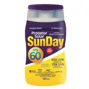 Kit 50 Protetor Solar Sunday Fps 60 120ml