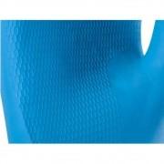 Luva Antialérgica de Látex Azul Com Forro em Verniz Silver - Super Safety