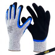 Luva Anticorte (HPPE) com Duplo Banho 1007N - Super Safety
