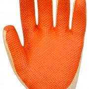 Luva com Borracha Vulcanizada Orange - Volk