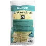Luva de Látex, Creme, anatómicas, antiderrapantes. pacote com 1un - Inoven