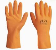 Luva de Látex Laranja Reforçada - Max Orange Danny