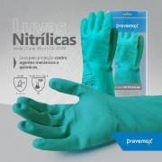 Luva de Látex Nitrílico com Forro - Prevemax