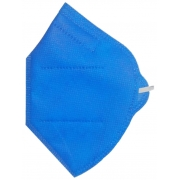 Mascara Semi Descartavel Azul PFF2 S/ Valvula ss N95 (Nuca) Super Safety