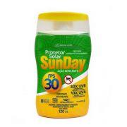 Protetor Solar FPS 30 com Repelente Sunday 120ml