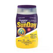 Protetor Solar FPS 60 Sunday 120ml