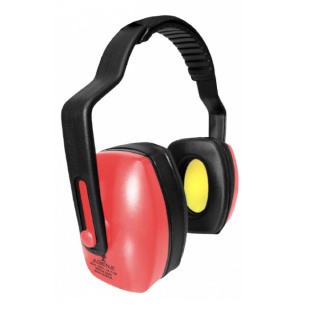 Abafador de Ruídos ARS 24 dB Dielétrico Vermelho - Agena