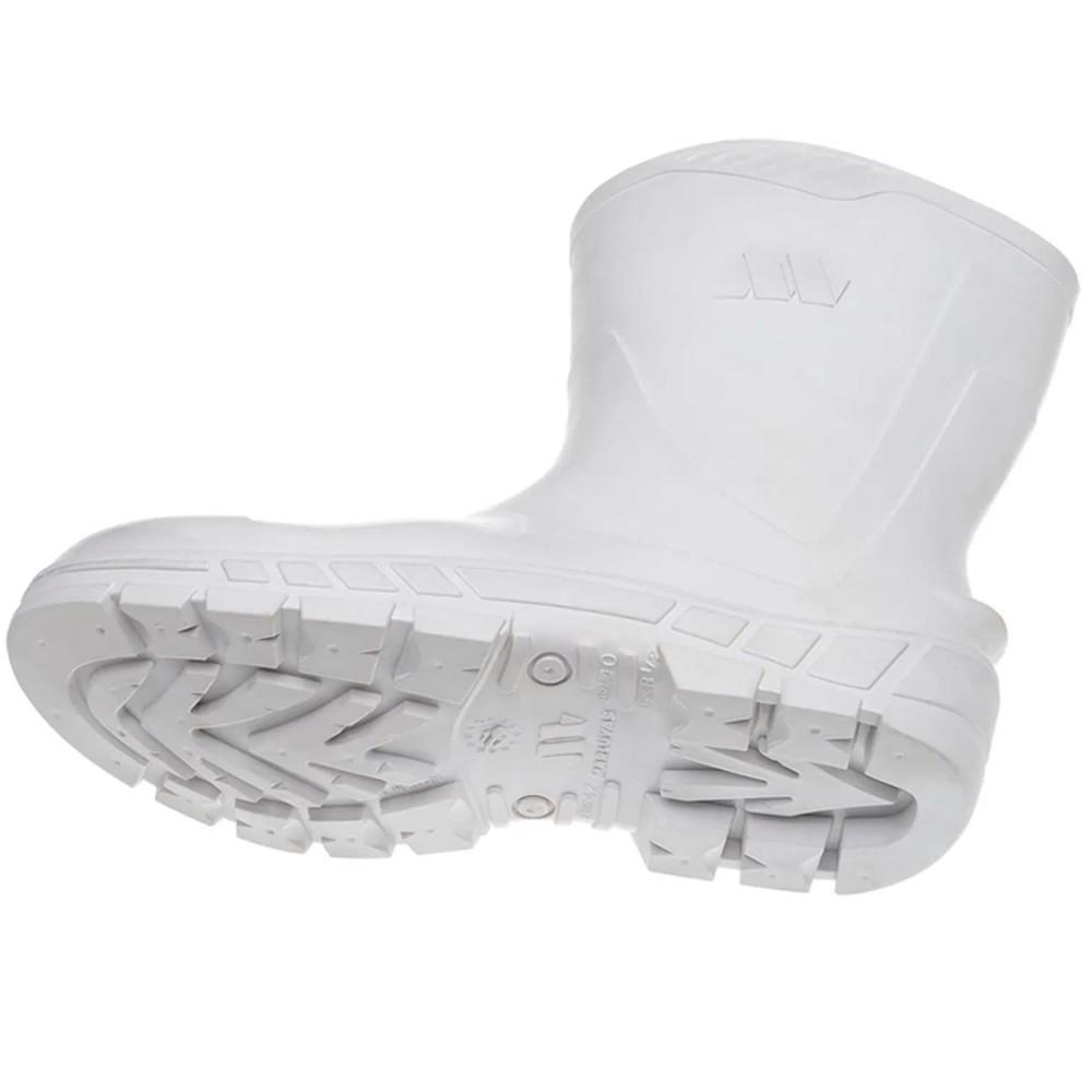 Bota de PVC Cano Médio Branca All Work - Marluvas