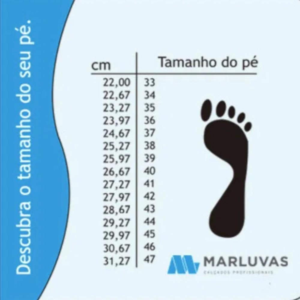 Bota de PVC Cano Médio Preta All Work - Marluvas