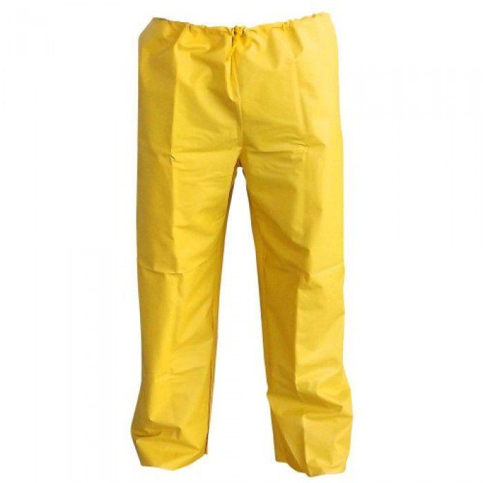 Calça de Chuva de PVC Amarela - Maicol
