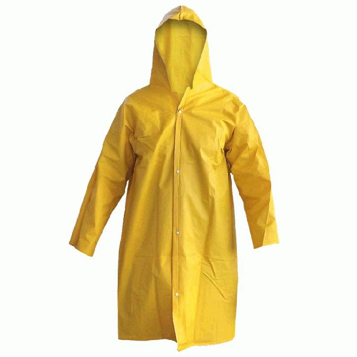 Capa de Chuva em PVC Amarela - Maicol
