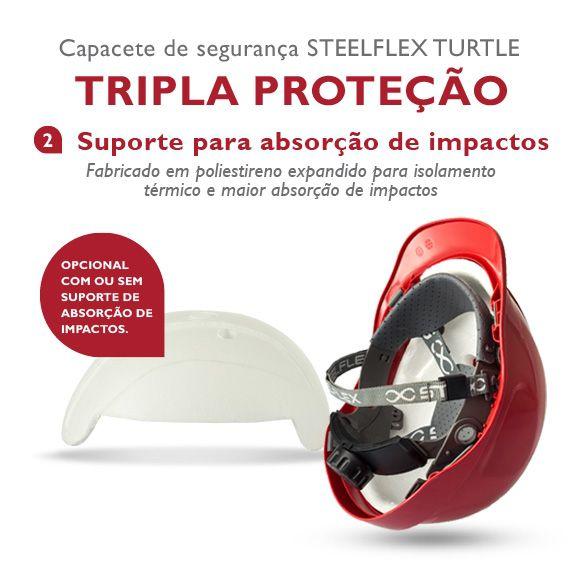 Capacete Aba Frontal Steelflex
