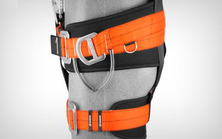 Cinto Paraquedista 5 Argolas em Y para Resgate com Suporte Lombar PQTT Extreme - Facintos