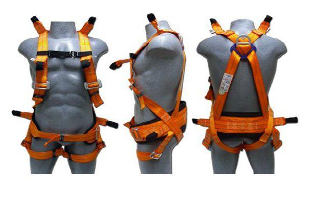 Cinto Paraquedista 7 Argolas Para Espaço Confinado PQ TOR - Facintos