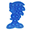 Sonic azul
