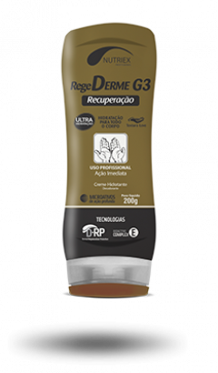 Creme Hidratante RegeDerme G3 Nutriex - 200g