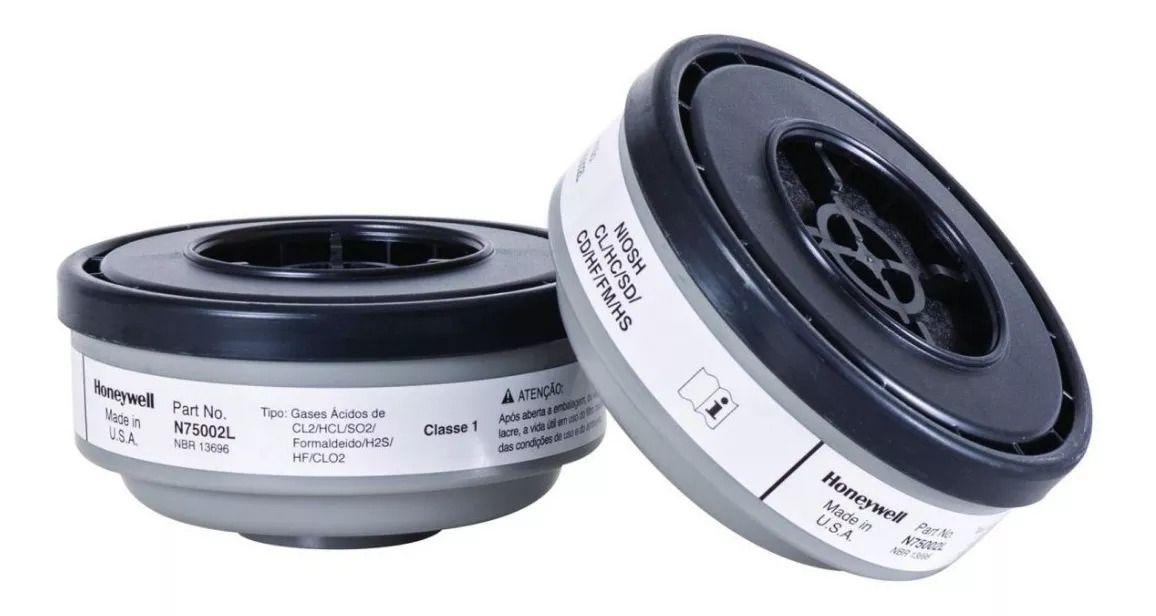 Filtro Químico para Gases Ácidos 75002L (par) - Honeywell