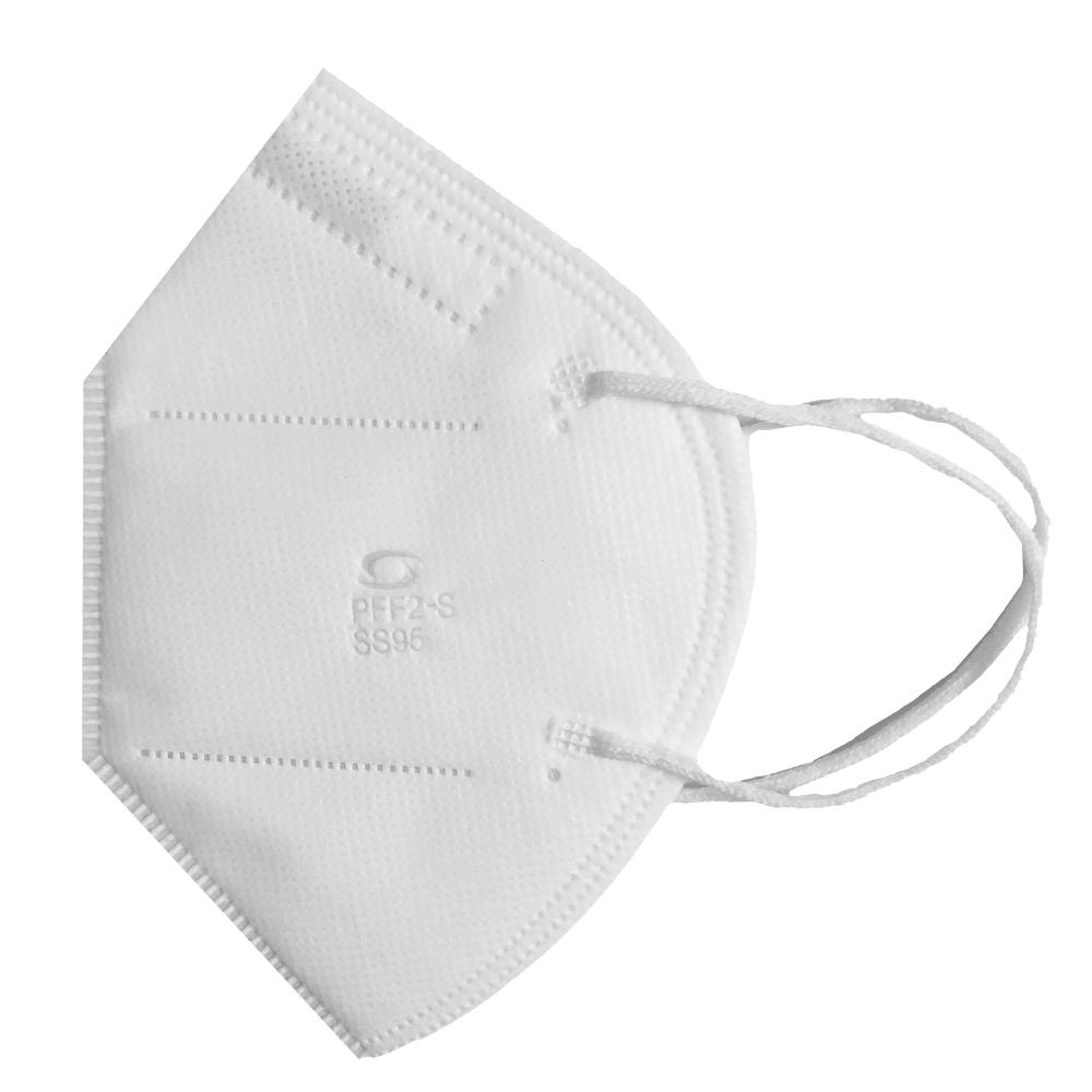 Kit Atacado 100 Mascara Semi Facial Hospitalar PFF2 N95