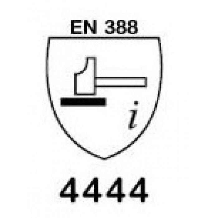 Luva Anti Corte de Fibra de Vidro e Polietileno com Duplo Banho na Palma e Dorso - 1014