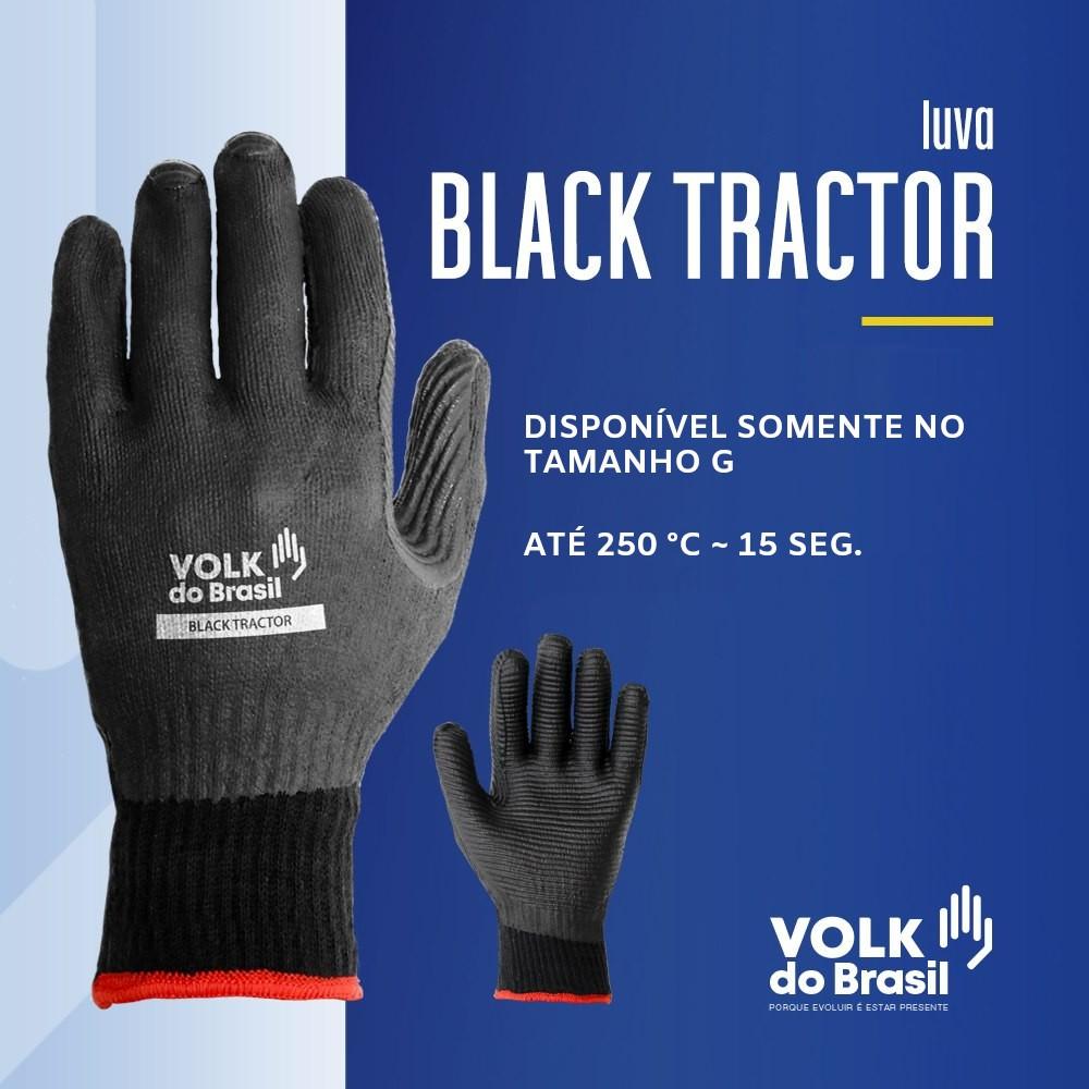 Luva Anticorte e Alta Temperatura Black Tractor - Volk