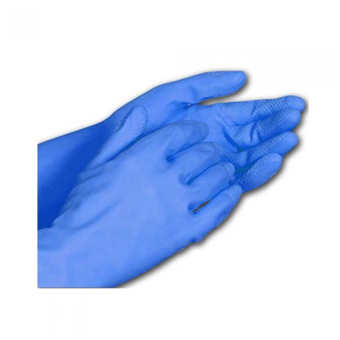 Luva de Látex Multiuso Azul - Lagrotta