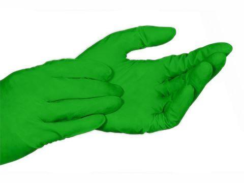 Luva de Látex Multiuso Verde - Lagrotta
