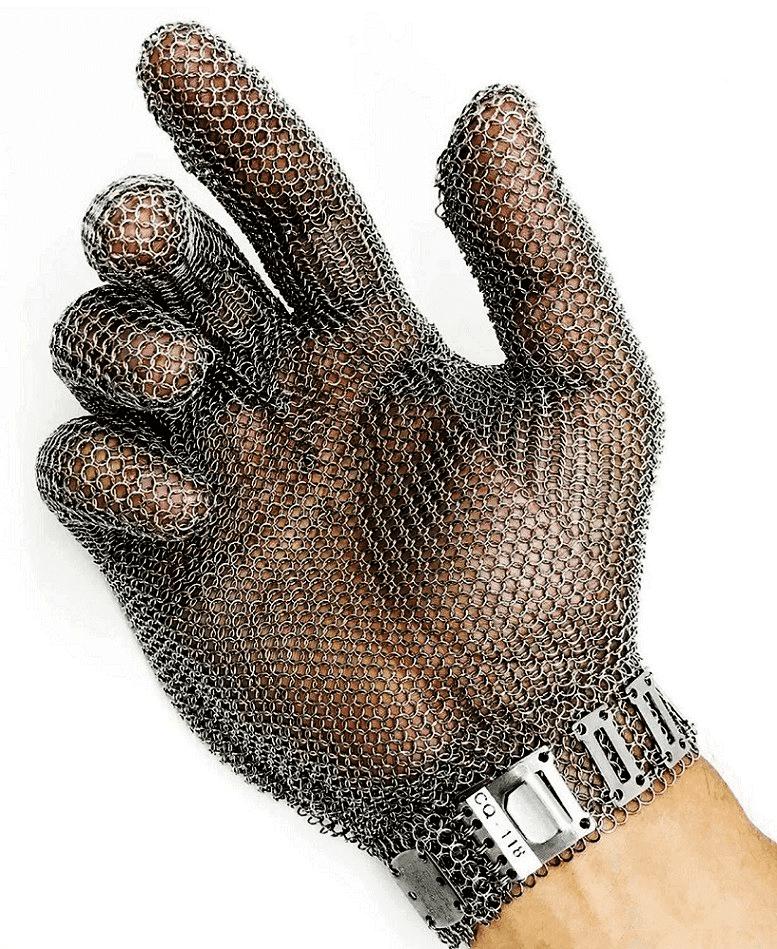 Luva de Malha de Aço - Leal