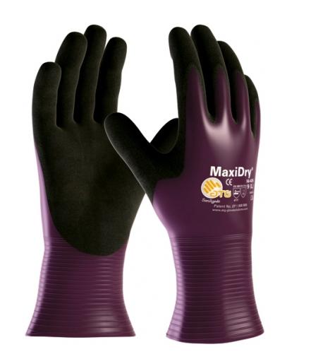 Luva de Segurança de Nylon e Elastano com Nitrílico Foam MaxiDry Total - Danny