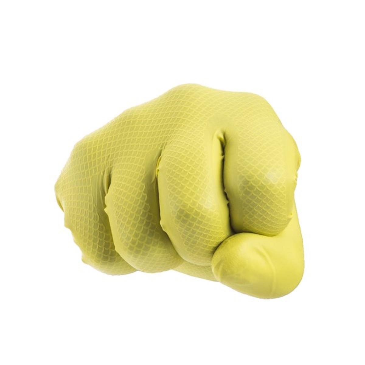 Luva SuperGlove Nitro Hipoalergênica Antiderrapante de Alta Resistência - Super Safety