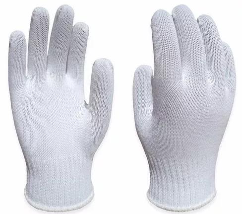 Luva Tricotada em Poliéster 6 Fios sem Pigmento (SSHL) - Super Safety