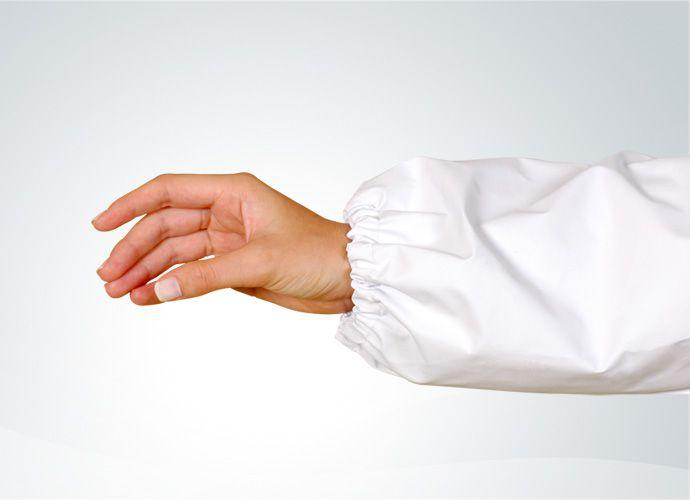 Mangote de PVC Branco Grosso - Lagrotta