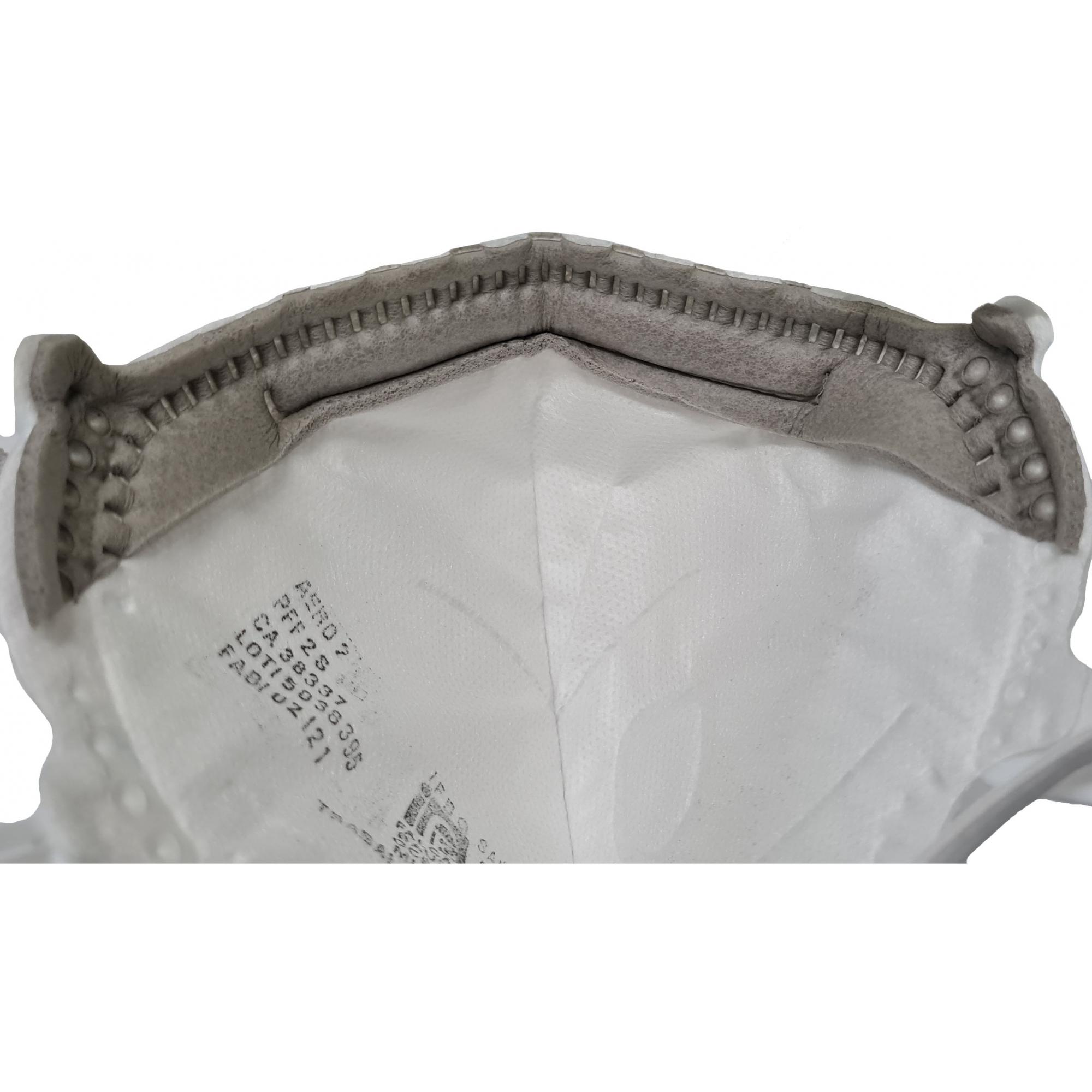 Máscara Descartável Aero 2 PFF2 CO com Válvula e Carvão Ativado - GVS