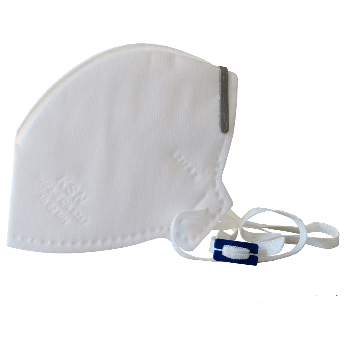 Máscara Semi-Descartável Hospitalar PFF2 N95 Branca - KSN