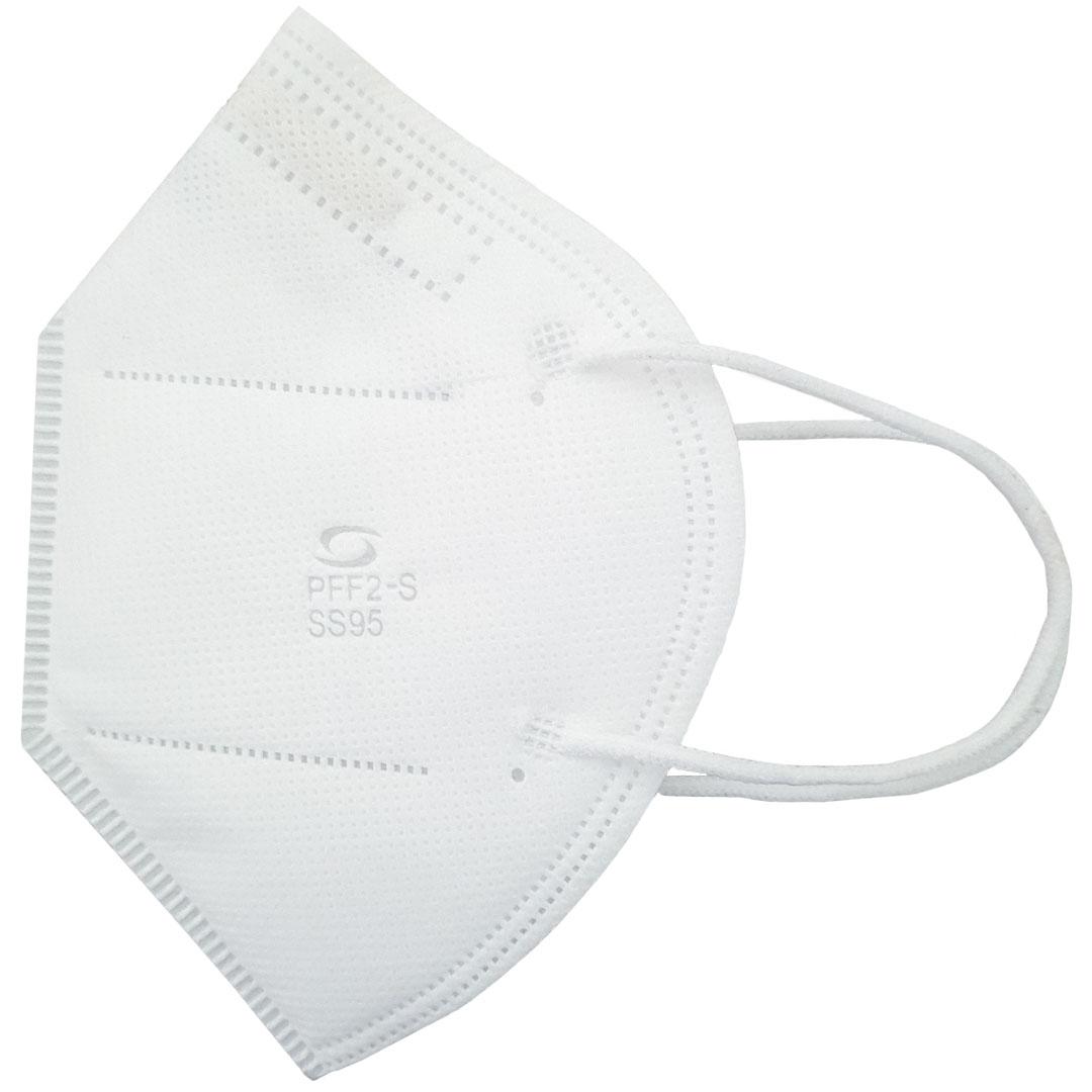 Mascara Semi Descartavel PFF2 S/ Valvula ss N95 (Orelha) Super Safety