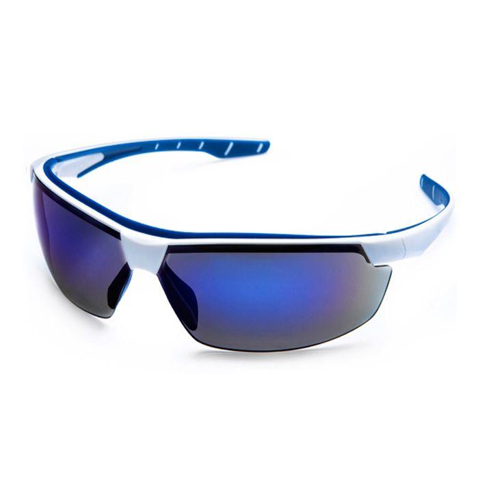 Óculos de Proteção Neon Espelhado Azul - Steelflex