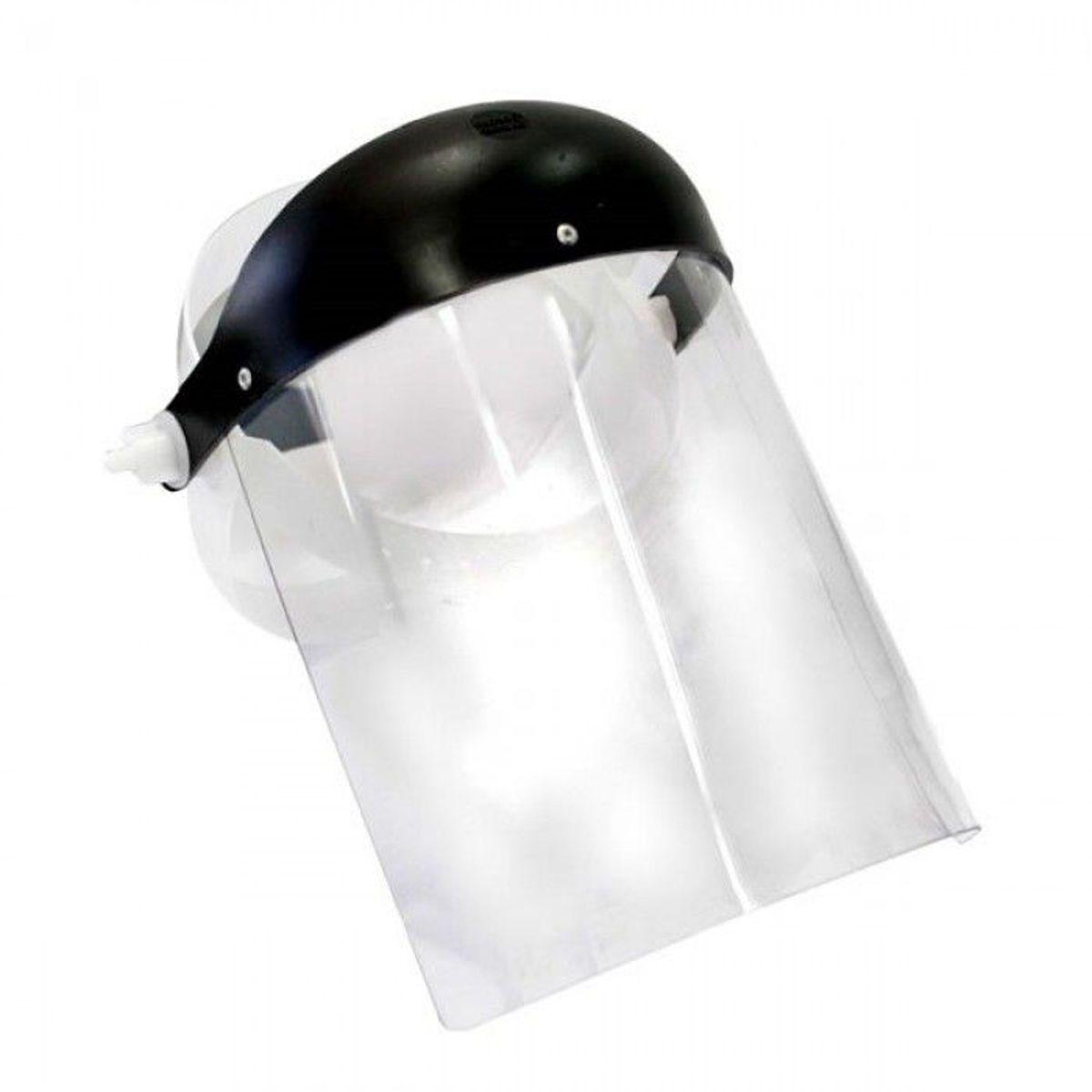 "Protetor Facial 8"" Incolor - Plastcor"